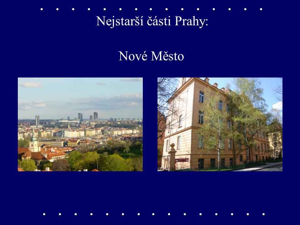 Nejstarší části Prahy: Staré Město