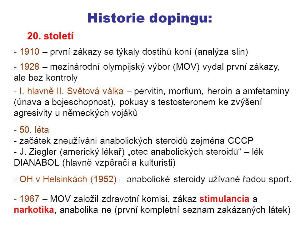 Historie dopingu: 20.