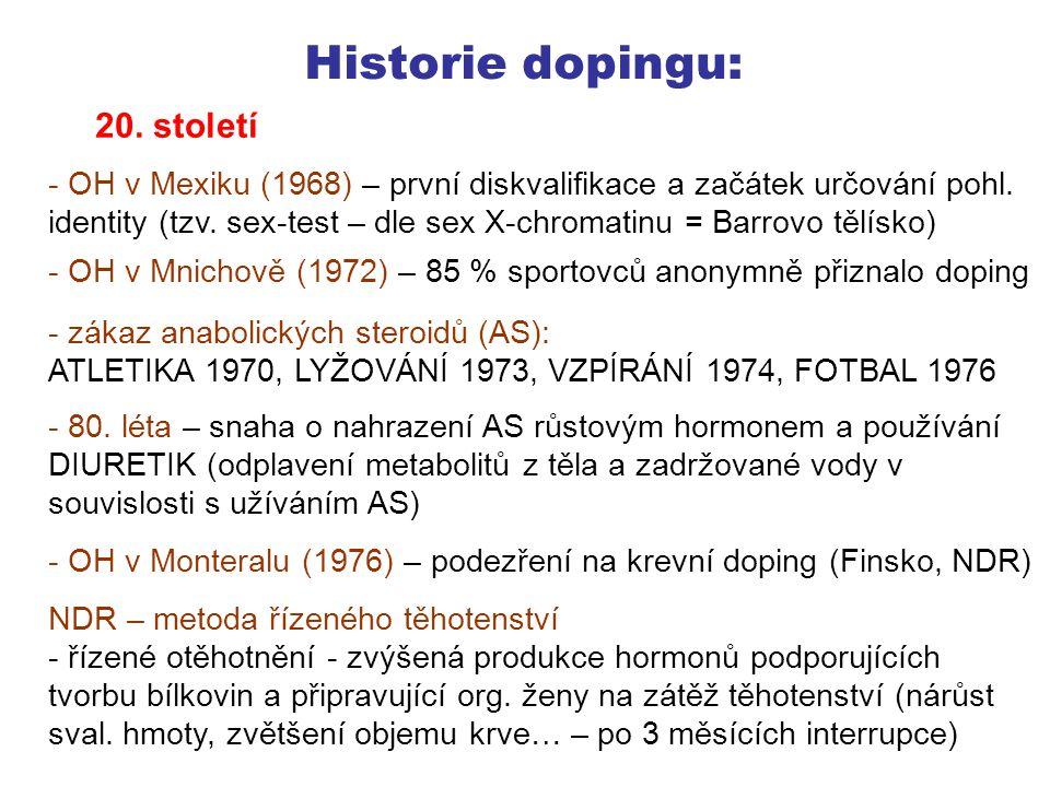 """Historie dopingu: 1998 Bruno Foussel, manažer stáje Festina (8.7.1998), ve vyšetřovací vazbě ve Francii (doping je zde kriminální delikt, v ČR ne): """"Doping je v cyklistice rozšířený, ale nechtěl jsem, aby si jezdci něco sháněli sami a brali kdoví co. Tour de France - jedna z největší dopingových aféra v historii Hnízdil, J."""