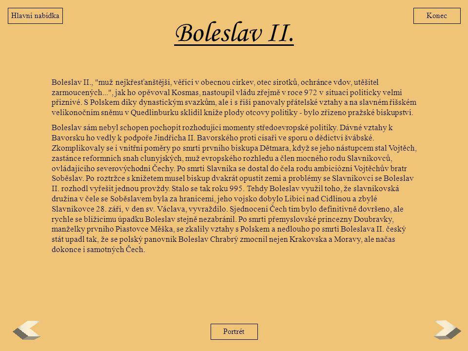 Boleslav II. Boleslav II.,