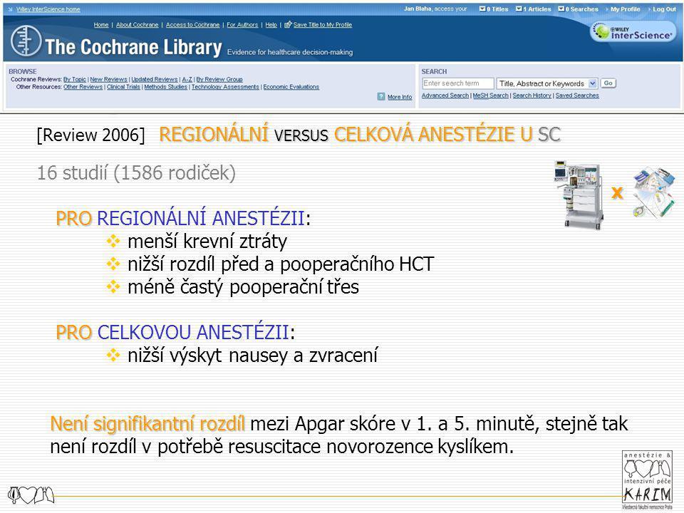PORODNICKÁ ANESTÉZIE KARIM Klinika Anesteziologie, Resuscitace a Intenzivní Medicíny 1.LF UK v Praze jan Bláha