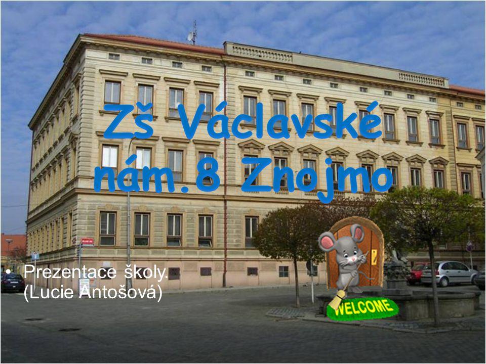 Prezentace školy. (Lucie Antošová)