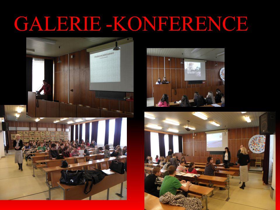 GALERIE -KONFERENCE