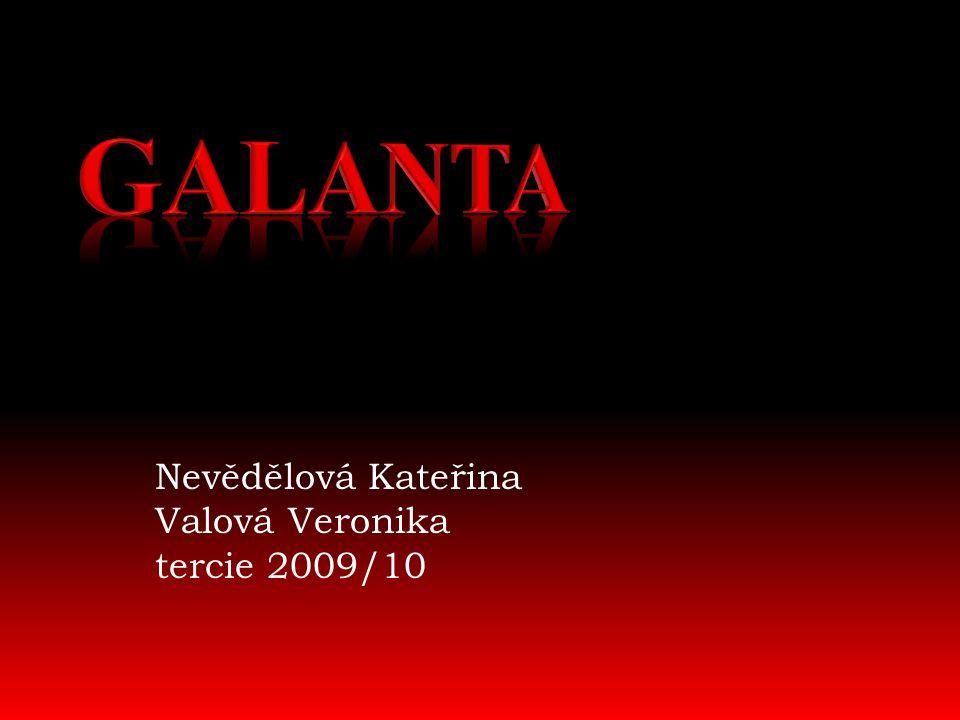 Nevědělová Kateřina Valová Veronika tercie 2009/10