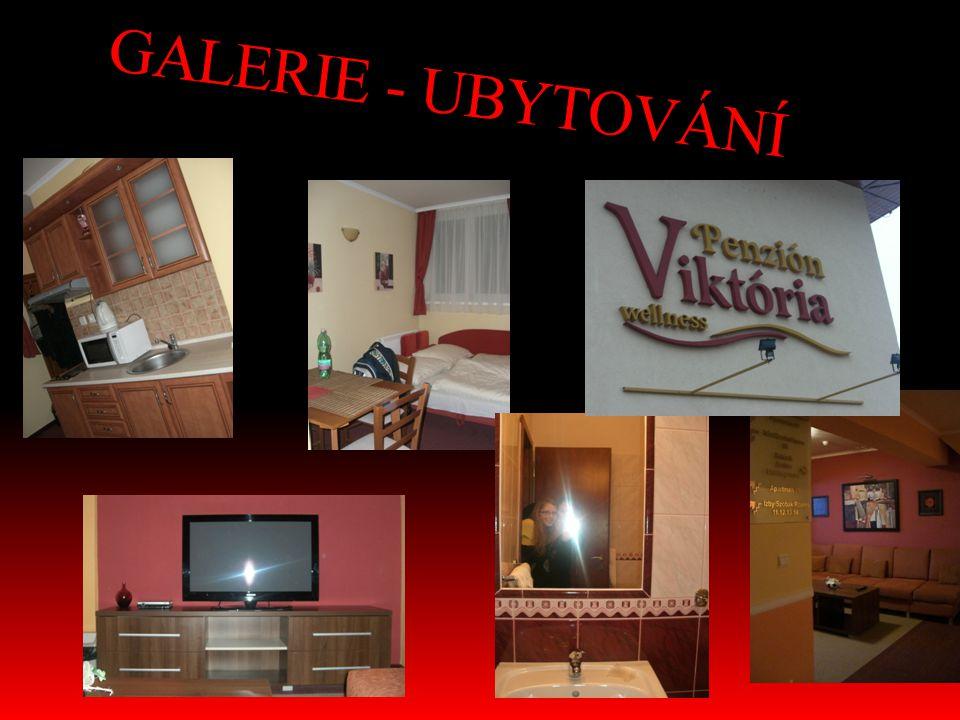 GALERIE - UBYTOVÁNÍ