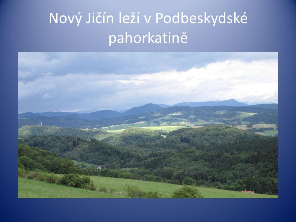 Nový Jičín leží v Podbeskydské pahorkatině