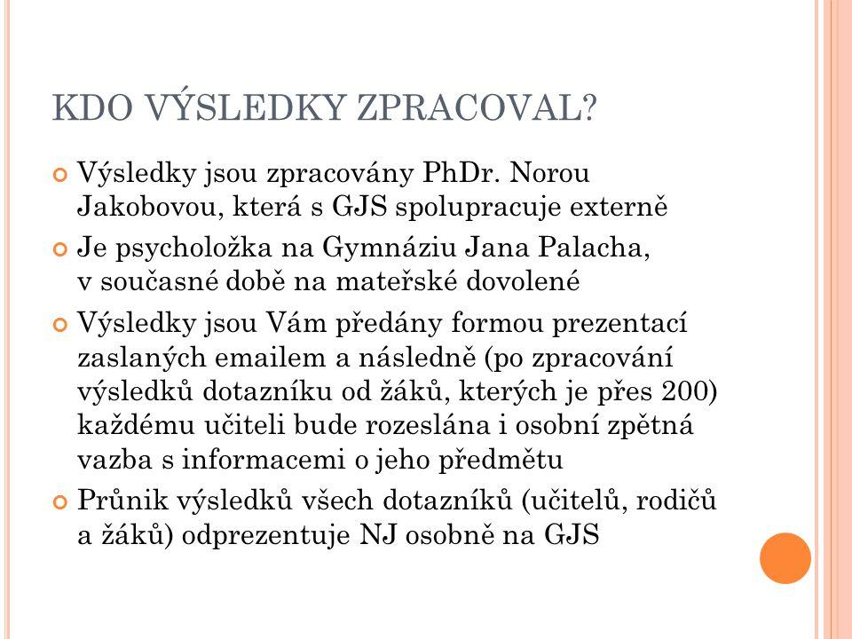 5) výuka projekty z biologie v podání prof.