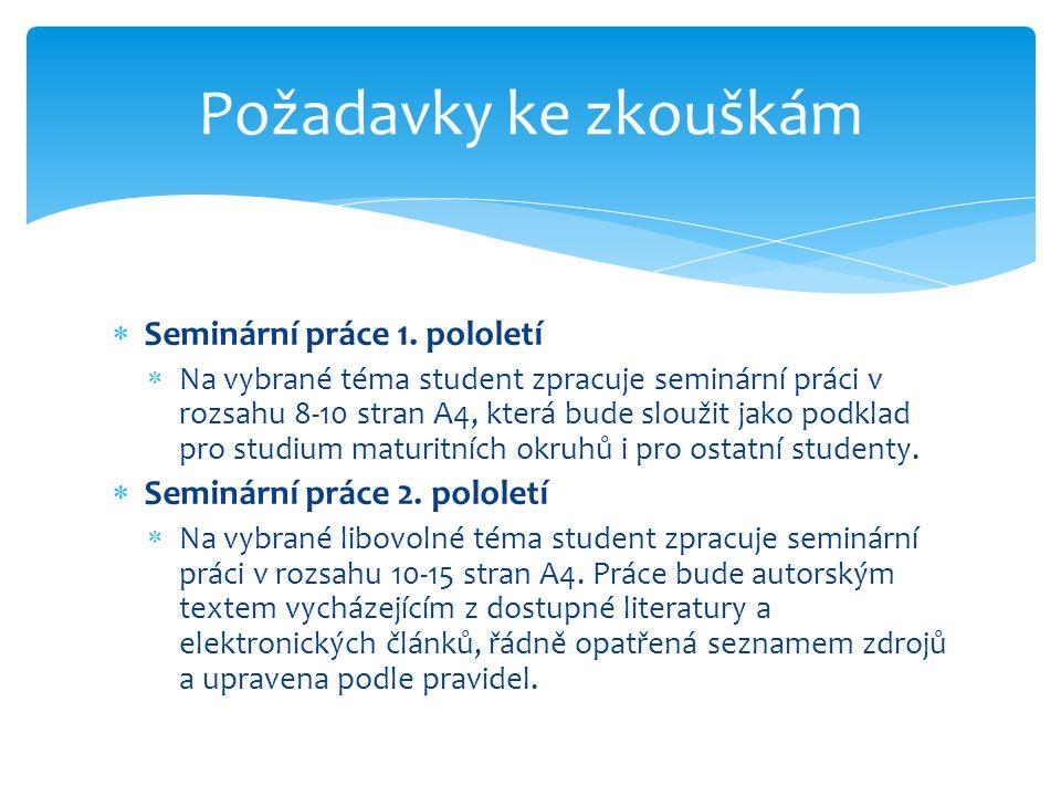  Seminární práce 1.