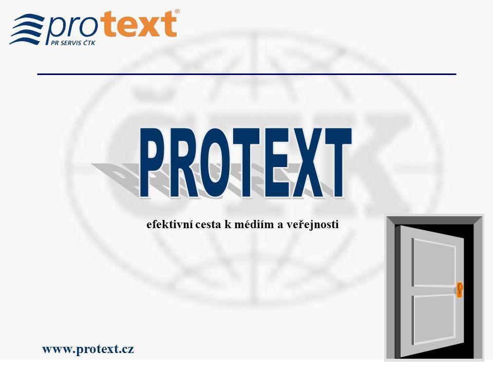www.protext.cz efektivní cesta k médiím a veřejnosti