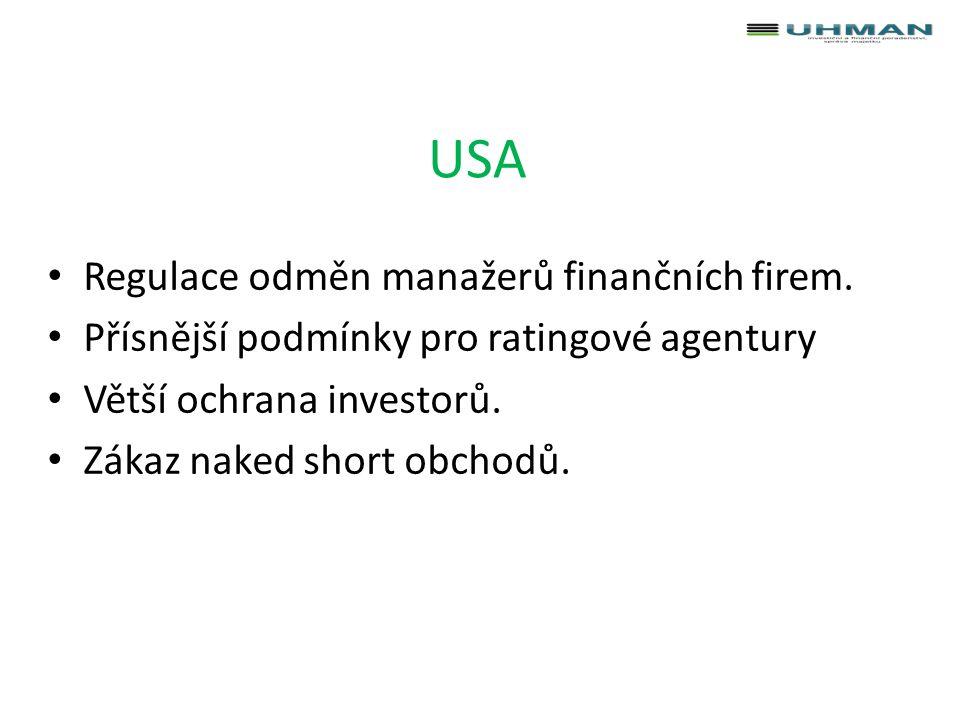 EMIR - Finanční instituce Hlásit transakce s deriváty do registru obchodních údajů.