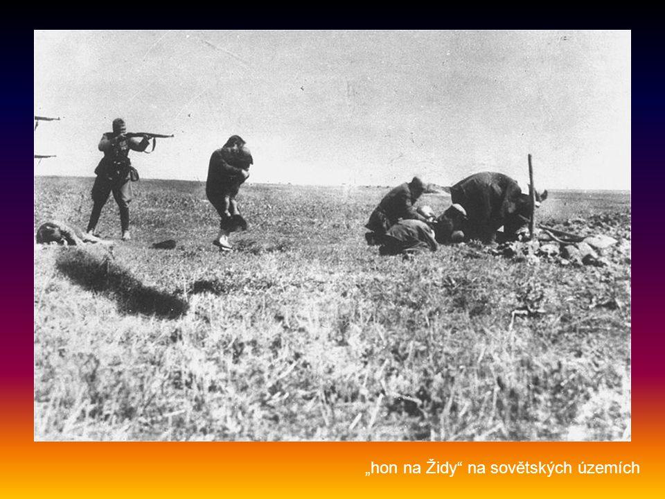 """""""hon na Židy na sovětských územích"""