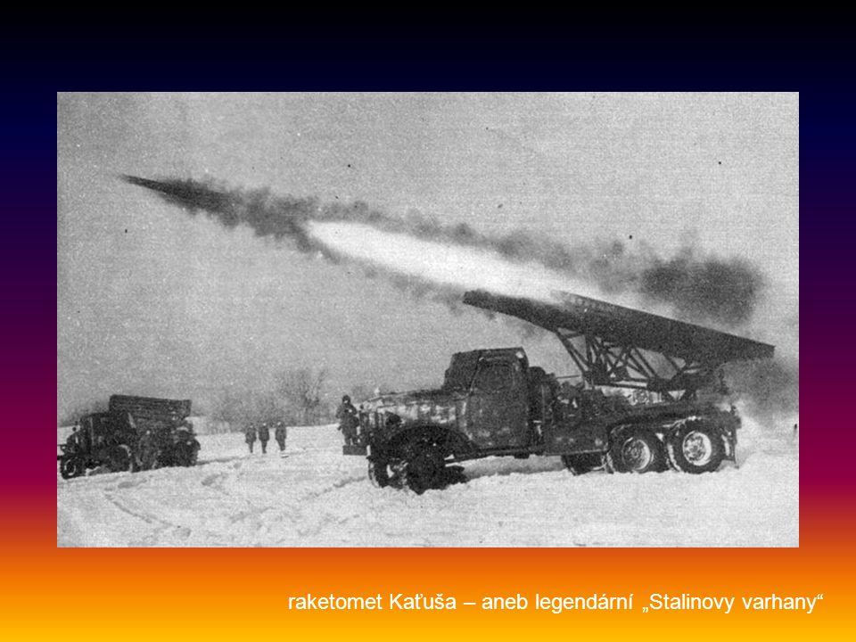 """raketomet Kaťuša – aneb legendární """"Stalinovy varhany"""