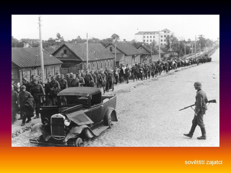sovětští zajatci
