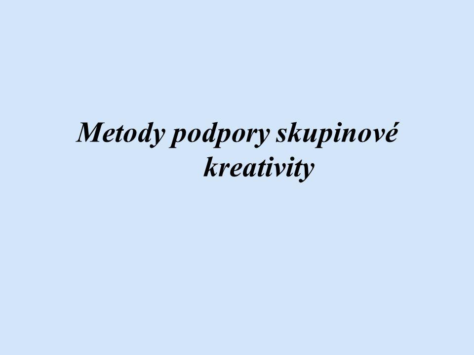 Metody podpory skupinové kreativity