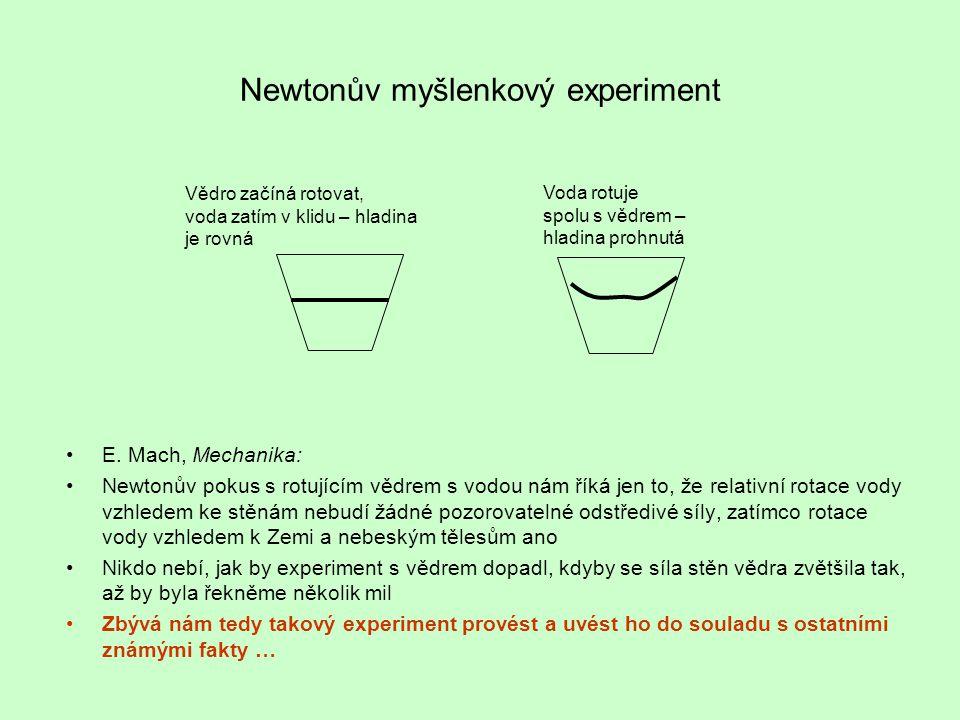 Newtonův myšlenkový experiment E.