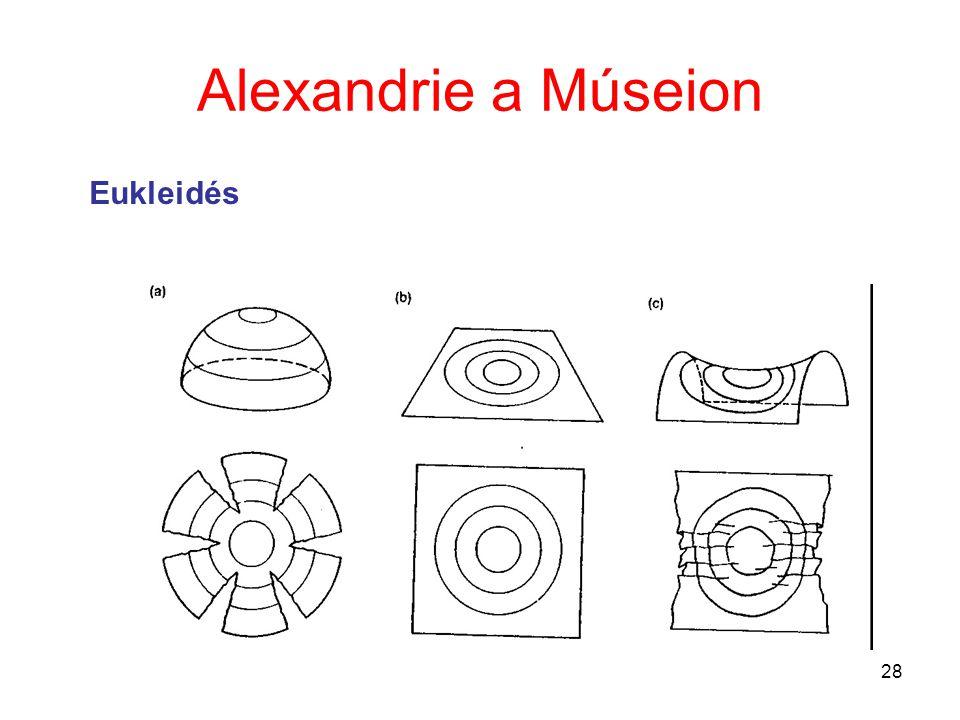 28 Alexandrie a Múseion Eukleidés