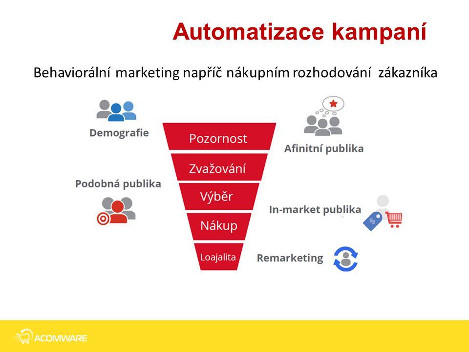 Automatizace kampaní 5 Behaviorální marketing napříč nákupním rozhodování zákazníka