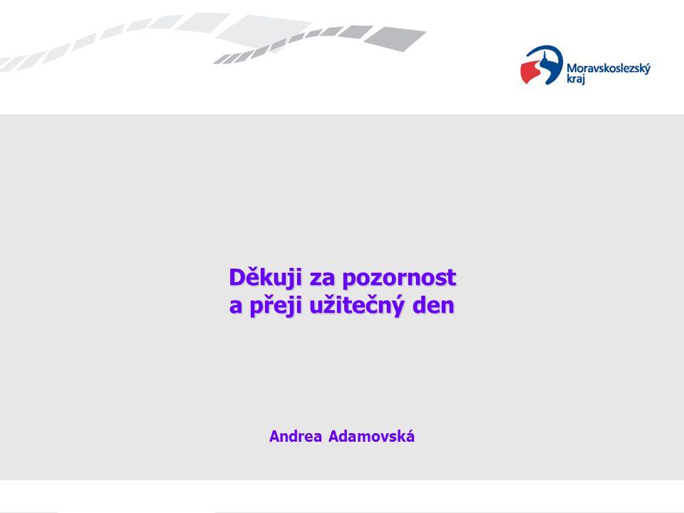 Děkuji za pozornost a přeji užitečný den Děkuji za pozornost a přeji užitečný den Andrea Adamovská