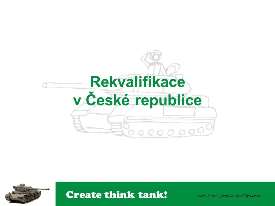 Create think tank! Doc. PhDr. Jaroslav Mužík DrSc. Rekvalifikace v České republice