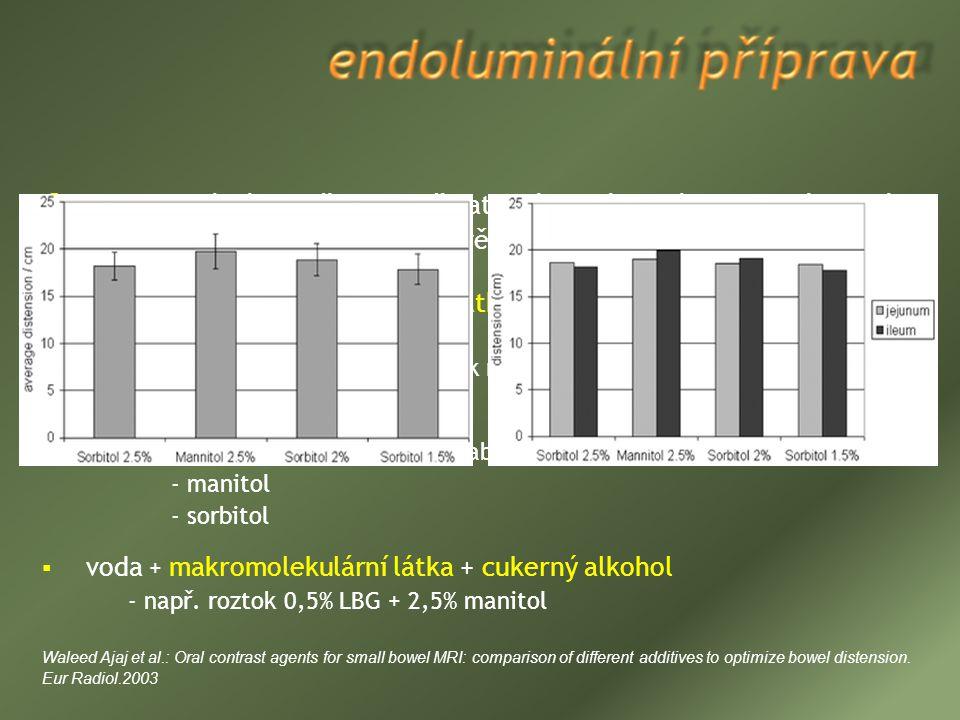 voda – ideální prostředek (poživatelná, nezávadná, dostupná, levná)  vstřebávání vody v tenkém střevě  voda + hydrofilní izoosmolární látky (  abso