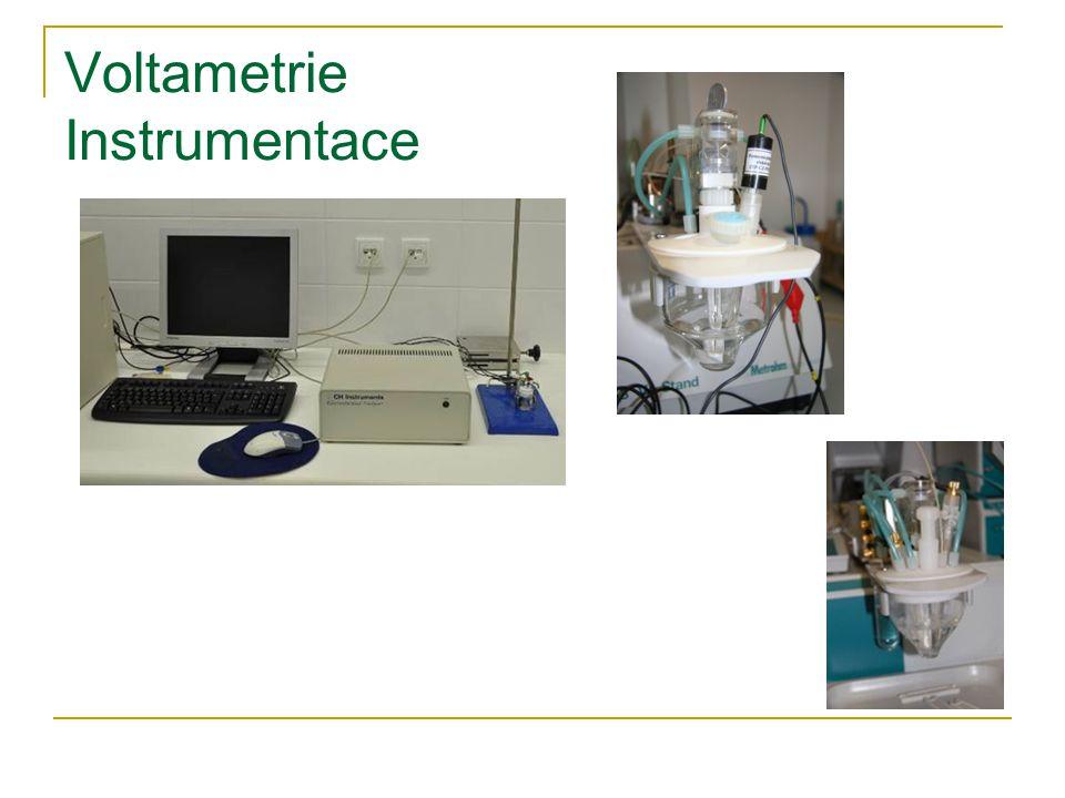 Voltametrie Instrumentace