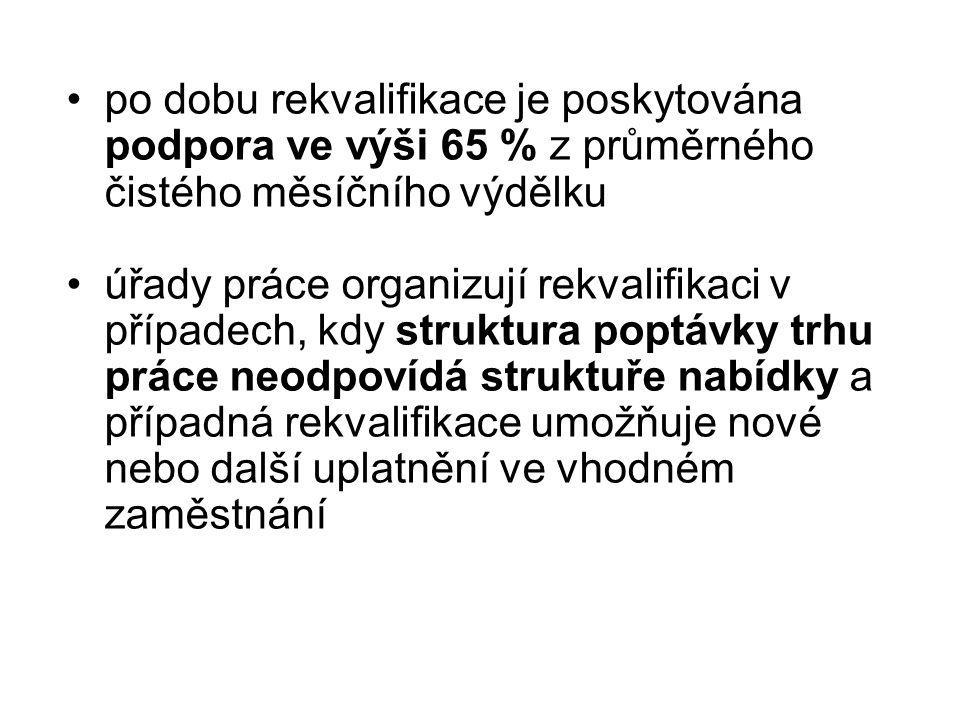 za rekvalifikaci se nepovažuje studium na středních a vysokých školách, ani nástavbová forma studia http://www.rekvalifikace.com/ – český server věnovaný rekvalifikacihttp://www.rekvalifikace.com/