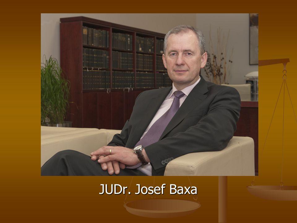 JUDr. Josef Baxa
