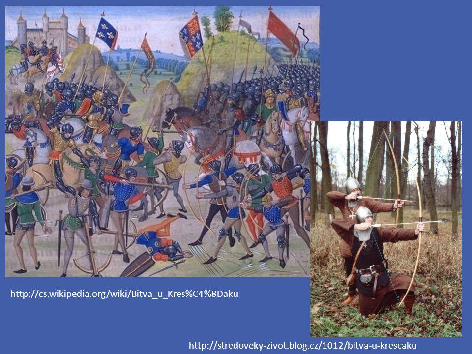 http://cs.wikipedia.org/wiki/Bitva_u_Kres%C4%8Daku http://stredoveky-zivot.blog.cz/1012/bitva-u-krescaku