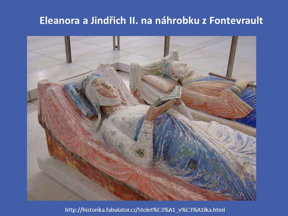 Eleanora a Jindřich II. na náhrobku z Fontevrault http://historika.fabulator.cz/Stolet%C3%A1_v%C3%A1lka.html
