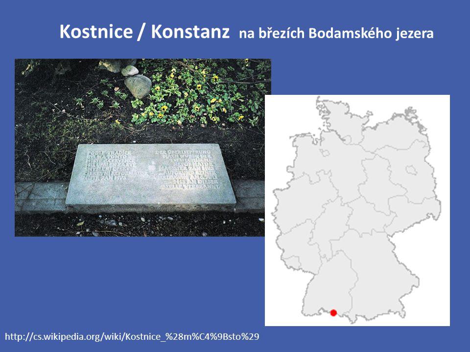 Kostnice / Konstanz na březích Bodamského jezera http://cs.wikipedia.org/wiki/Kostnice_%28m%C4%9Bsto%29