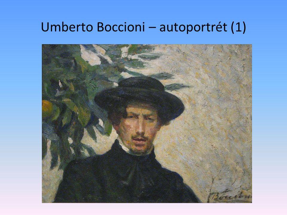 Umberto Boccioni – autoportrét (1)