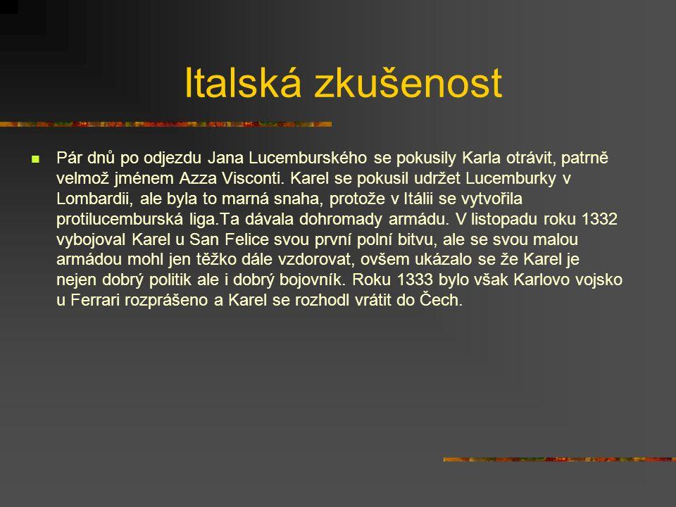 Zdroje http://www.sweb.cz/cibulkamartin/karel/ www.antikeuro.cz Hora-Hořejš P.,Toulky českou minulostí 2, 1997
