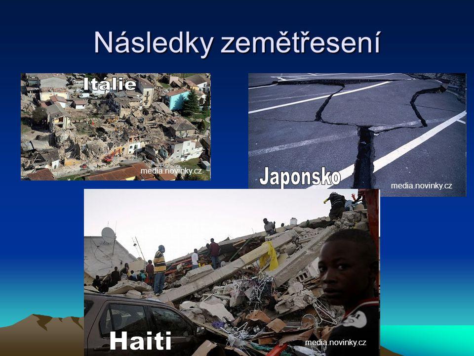 Následky zemětřesení media.novinky.cz