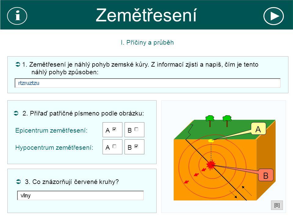 Zemětřesení II.Monitoring  4. Jaký přístroj používají seismologové pro měření seismických vln.