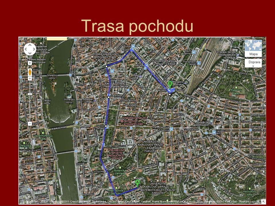 Trasa pochodu