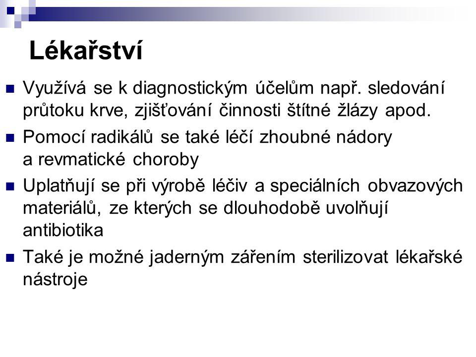 Zdroje Učebnice fyziky www.cojeco.cz http://www.cez.cz/presentation/static/encyklopedie/vyk ladovy_slovnik_energetiky/hesla/radionuklid.html http://www.jaderny-odpad.cz/hlubinne-uloziste.htm http://www.ecn.cz/ENV/Temelin/c11/NEHODY.HTM http://www.sweb.cz/radioaktivita.cz/mileisland.htm http://cs.wikipedia.org/wiki/%C4%8Cernobylsk%C3%A 1_hav%C3%A1rie
