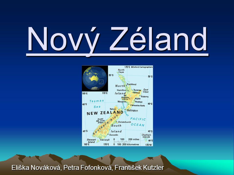 Nový Zéland Eliška Nováková, Petra Fofonková, František Kutzler