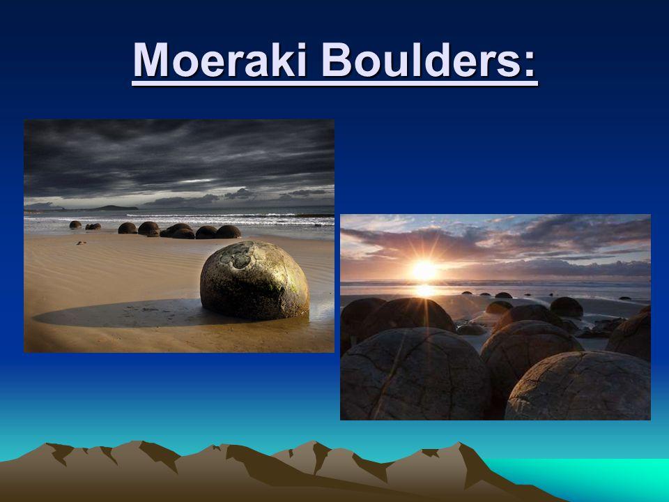Moeraki Boulders: