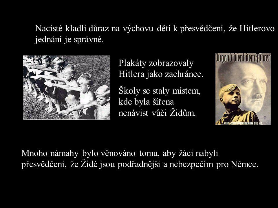 Jak nacisté rozhodli, kdo je Žid? Kdo měl jednoho rodiče židovského vyznání, byl Žid. Nicméně, jestliže jen jediný z jeho prarodčů byl Žid, byl klasif