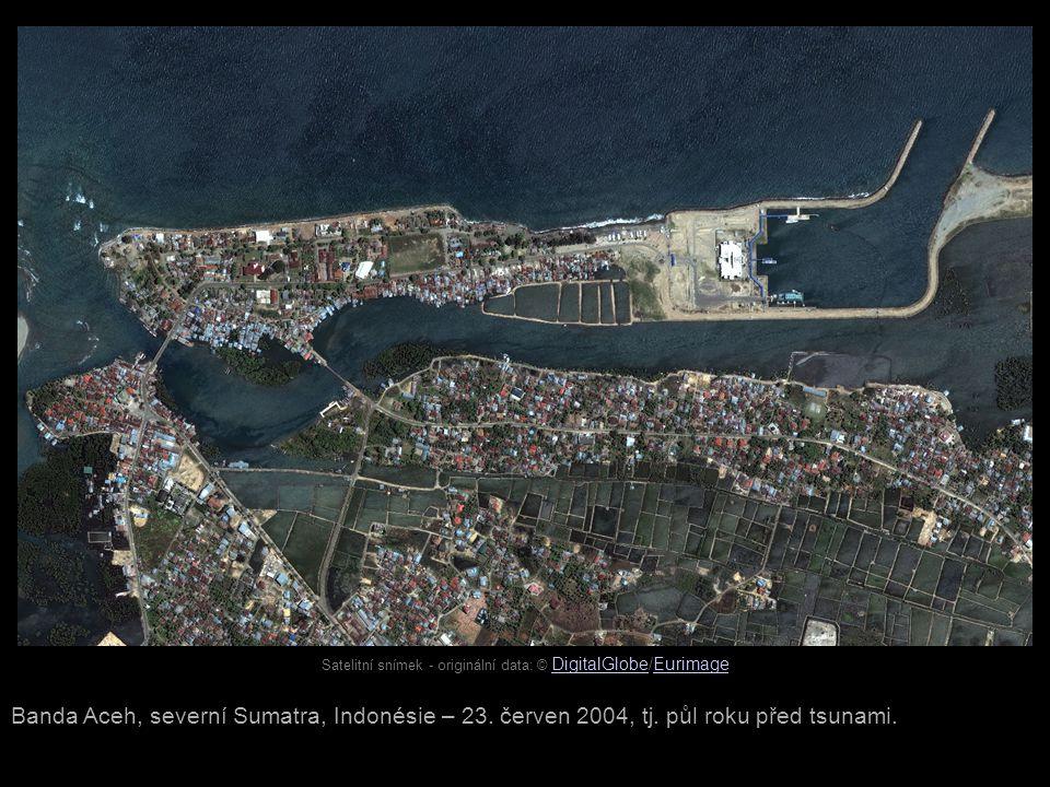 Banda Aceh, severní Sumatra, Indonésie – 23.červen 2004, tj.