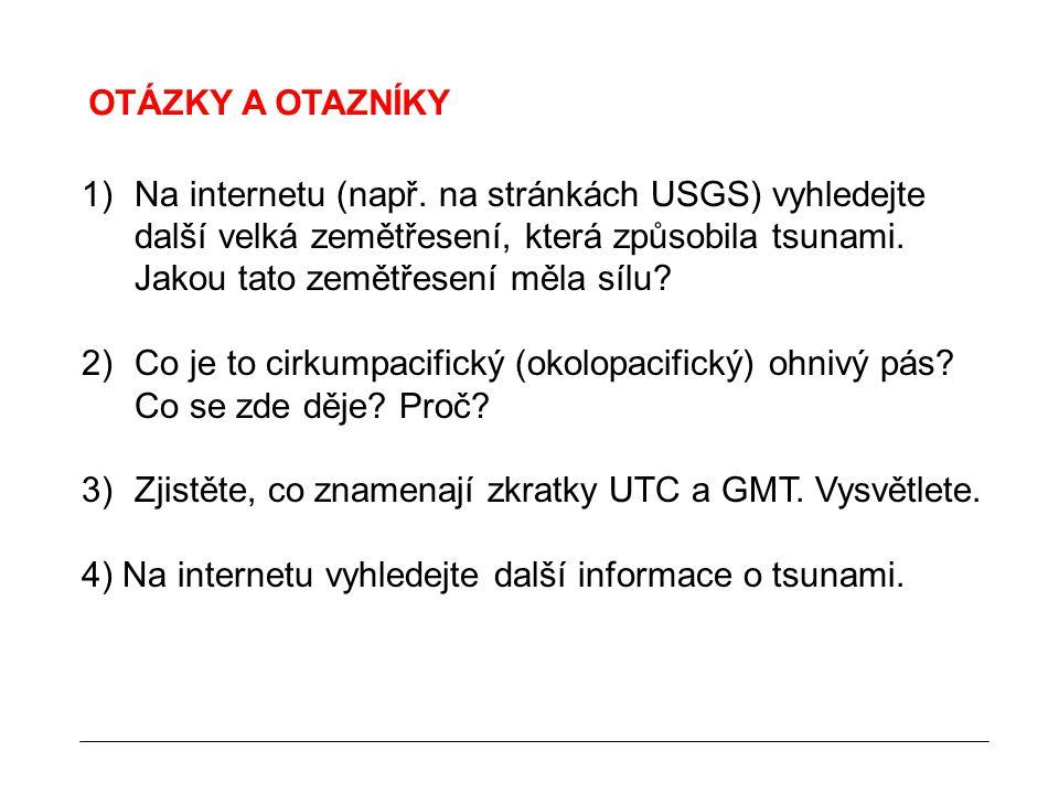 OTÁZKY A OTAZNÍKY 1)Na internetu (např.