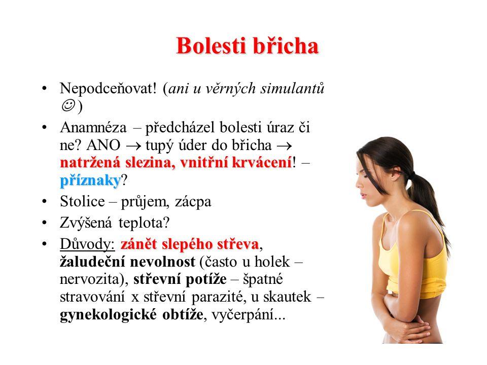Omrzliny Působení příliš nízkých telot na povrch těla I. stupeň: zarudnutí  výrazné zblednutí  bílá barva kůže II. stupeň: puchýře naplněné žlutavou