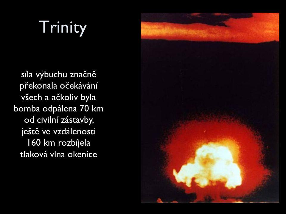 Druhou atomovou mocností se v roce 1949 stal Sovětský svaz.