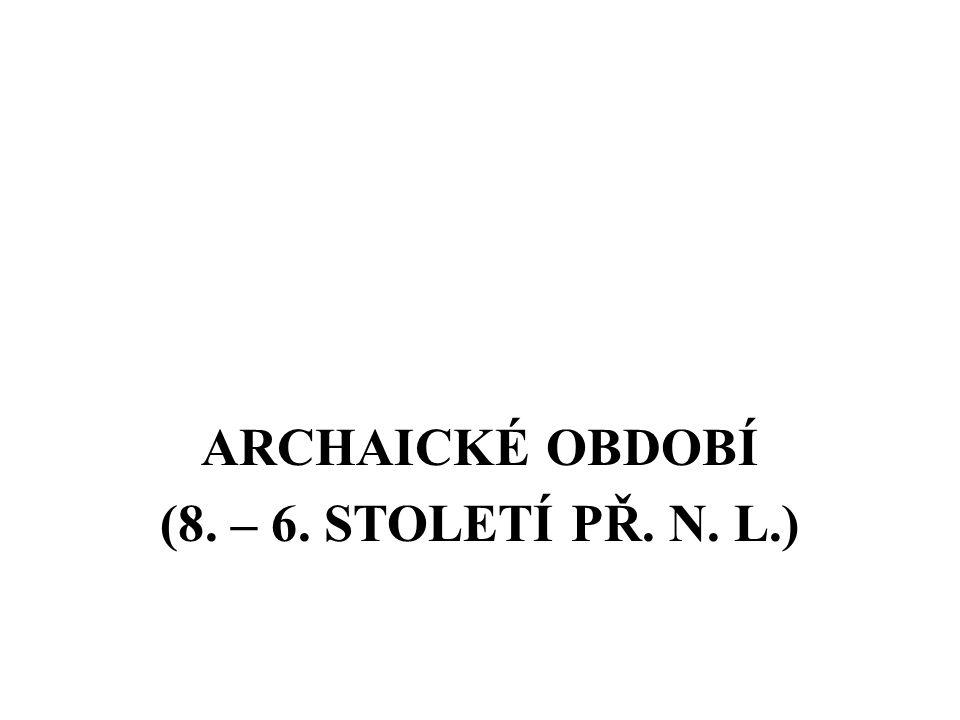 HELÉNISTICKÉ OBDOBÍ (323 – 146 PŘ. N. L.)