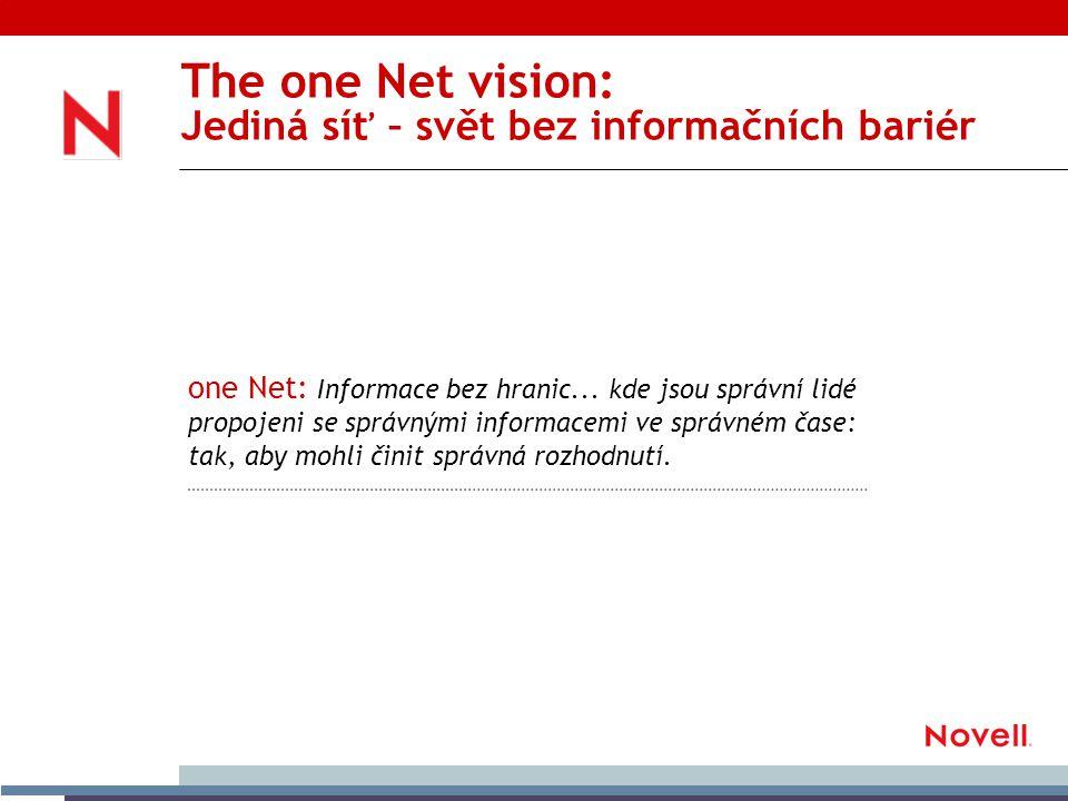 one Net: Informace bez hranic...