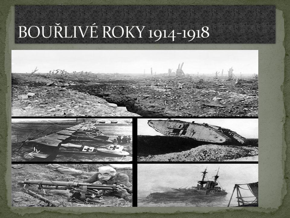 1.světová válka zasáhla EVROPU, AFRIKU a ASII a proběhla ve světových oceánech.