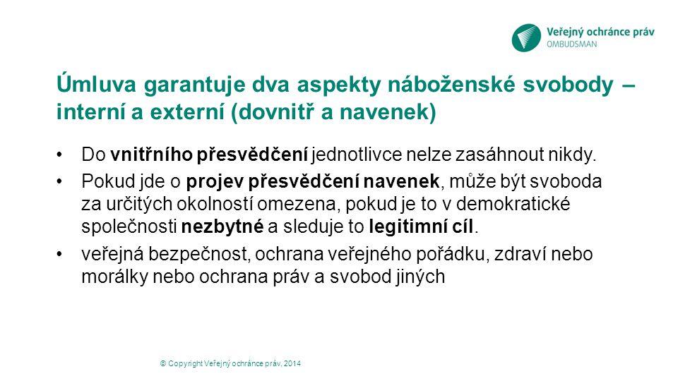 ESLP v rozsudku Kokkinakis proti Řecku č.