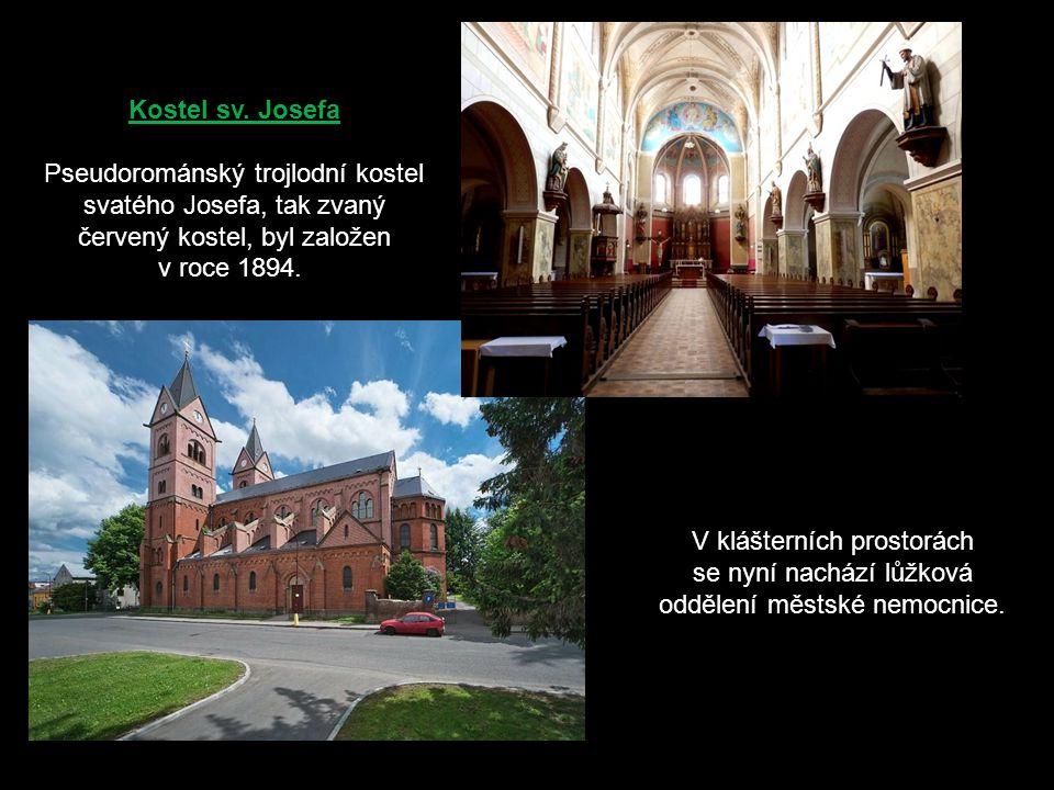 Kostel sv. Jiljí je nejstarší dochovanou stavbou ve Svitavách, byl založen premonstráty kolem roku 1150.