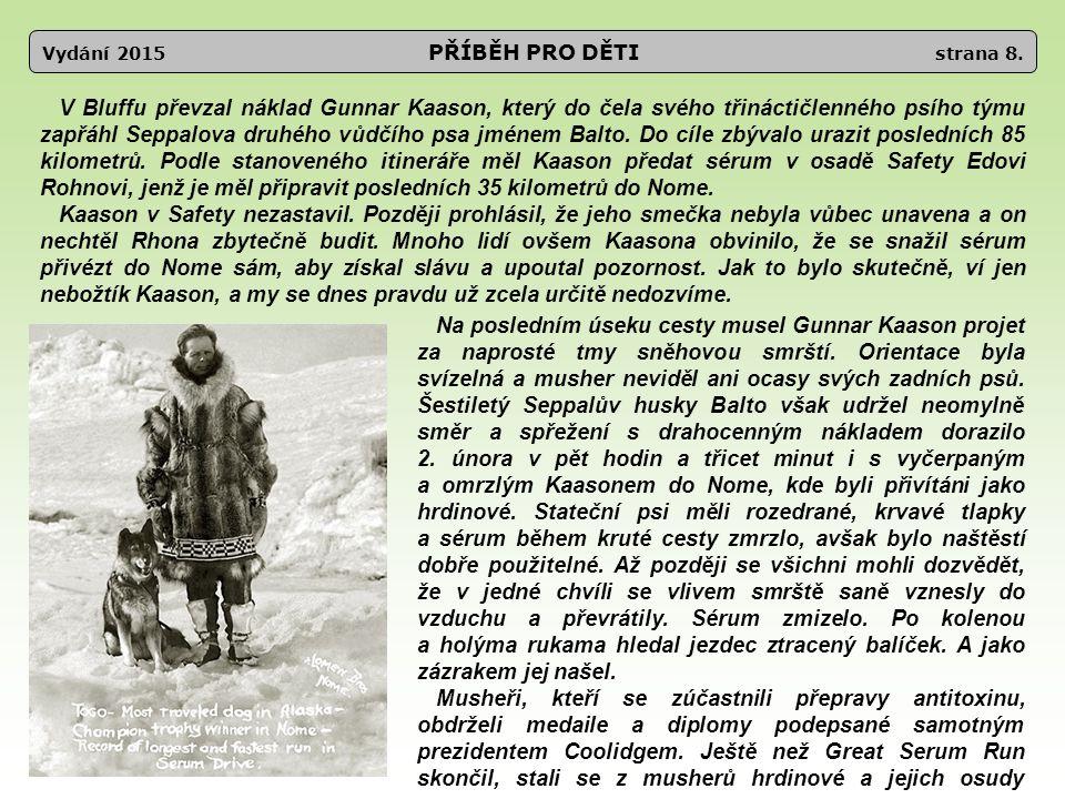 Vydání 2015 Léčebna a věznice strana 29.Už jste se někdy stali poslem.
