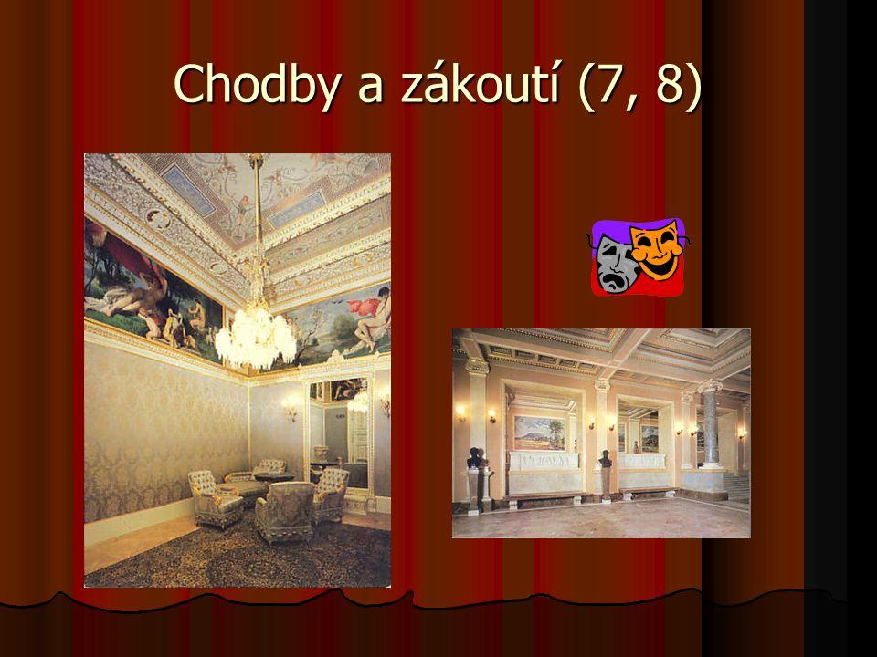 Chodby a zákoutí (7, 8)